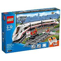 LEGO City Скоростной пассажирский поезд 60051