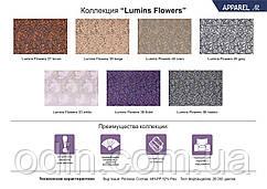 Тканина Люмінс Квіти (Lumins Flowers) мікро рогожка ширина 1,4 м. п.