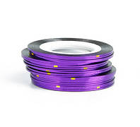 Лента для дизайна ногтей Нить-фольга Фиолетовый