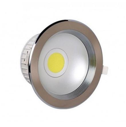Світлодіодний світильник Horoz (HL696L) 10W 4200K мат. хром (стельовий) Код.55195
