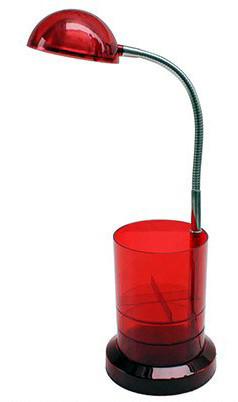 Светодиодная настольная лампа Horoz (HL010L) 3W красная Код.56670