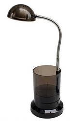 Светодиодная настольная лампа Horoz (HL010L) 3W черная Код.56671