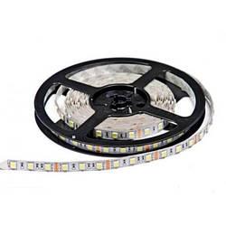 Світлодіодна стрічка SMD 5050/60 12V біла тепла (3000-3500K) IP20 Код.52414