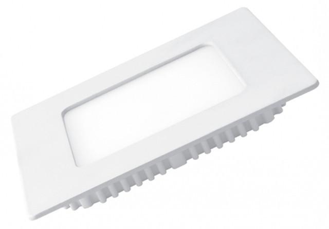 Светодиодная панель Eurolamp LED-PLS-4/3 4W 3000K (квадрат.бел.) Код.57886