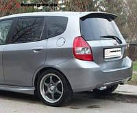 Спойлер на багажник HONDA JAZZ 2001-2007 ABS пластик под покраску