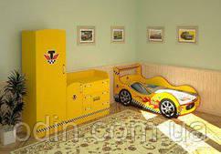Кровать машинка Taxi KM