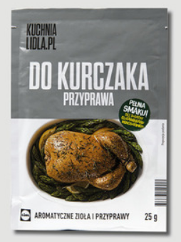 Приправа Kuchnia Lidl.PL Do Kurczaka 25 г