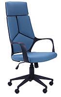 Кресло Urban HB черный, тк.синий