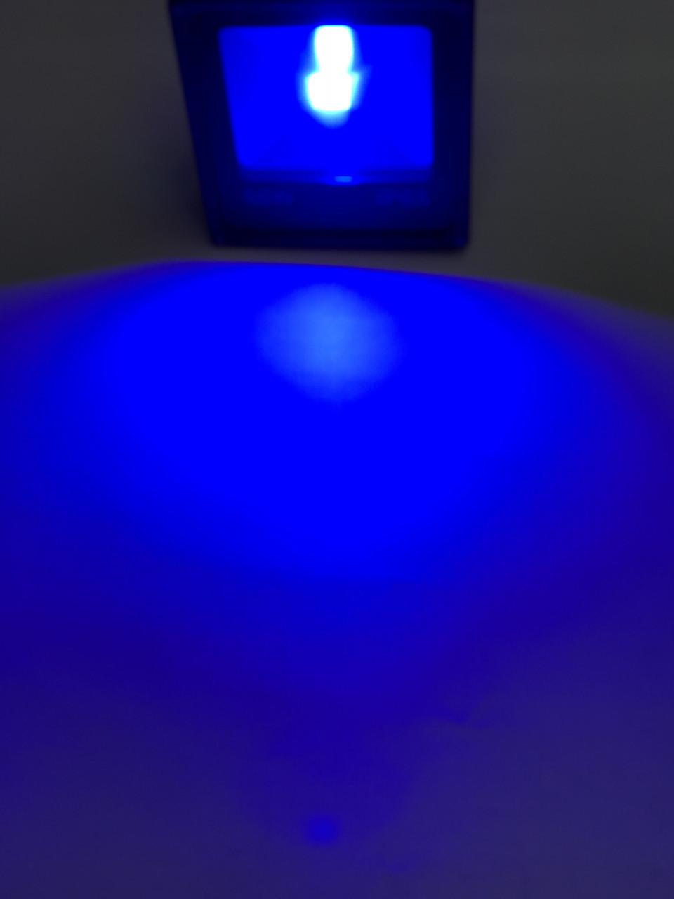 Светодиодный прожектор SL-50 50W синий IP65 Код.59056