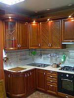 деревянная кухня фото 72