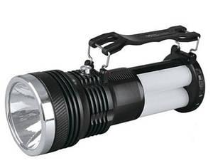 Світлодіодний акумуляторний ліхтар SL-2881 3 режими 3W LED чорний Код.59095