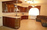 угловая кухня с барной стойкой фото 73