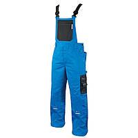 Полукомбинезон рабочий мужской мод.4TECH, сине - черный