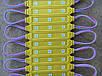 Світлодіодний модуль SMD 5050 3 світлодіода 120* жовтий IP67 Код.58691, фото 2
