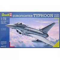 Сборная модель Revell Самолет Eurofighter Typhoon single seater 1:72 (4317)