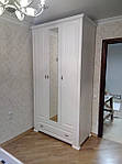 Шкаф 1800х600х2400 с зеркалом  из МДФ