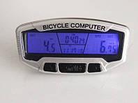 Велокомпьютер (Велосипедный компьютер. Спидометр, одометр. Влагозащищен)