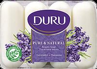 Мыло DURU PURE&NATURAL Лаванда (4*85 г.)