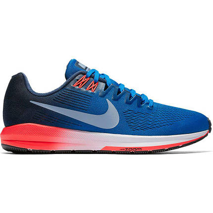 Кроссовки мужские NIKE AIR ZOOM Structure 21 Blue/Red, фото 2