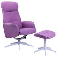 Кресло-реклайнер Belize тк.пурпурный 515417
