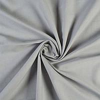 Лен шторы портьерный облегченный светло-серый Германия, ш.150 итальянская ткань