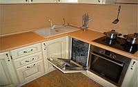 кухня белая из ясеня фото 79