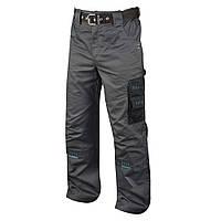 Брюки рабочие мужские мод.4TECH, серо-черные
