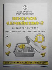 Инкубатор СовеК Веселое семейство-2Т 80 яиц, ручной переворот, ТЭН, фото 2