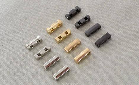 Прямоугольник металлический пришивной арт.25206, цена за упаковку(50шт.)