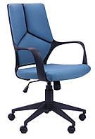 Кресло Urban LB черный, тк.синий