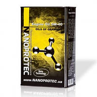 Моторное масло Engine Oil 5W-40 4л NANOPROTEC