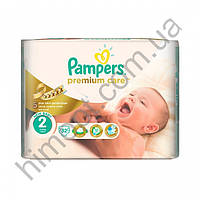 Подгузники Pampers Premium Care Mini 2 (3-6 кг), 32 шт.