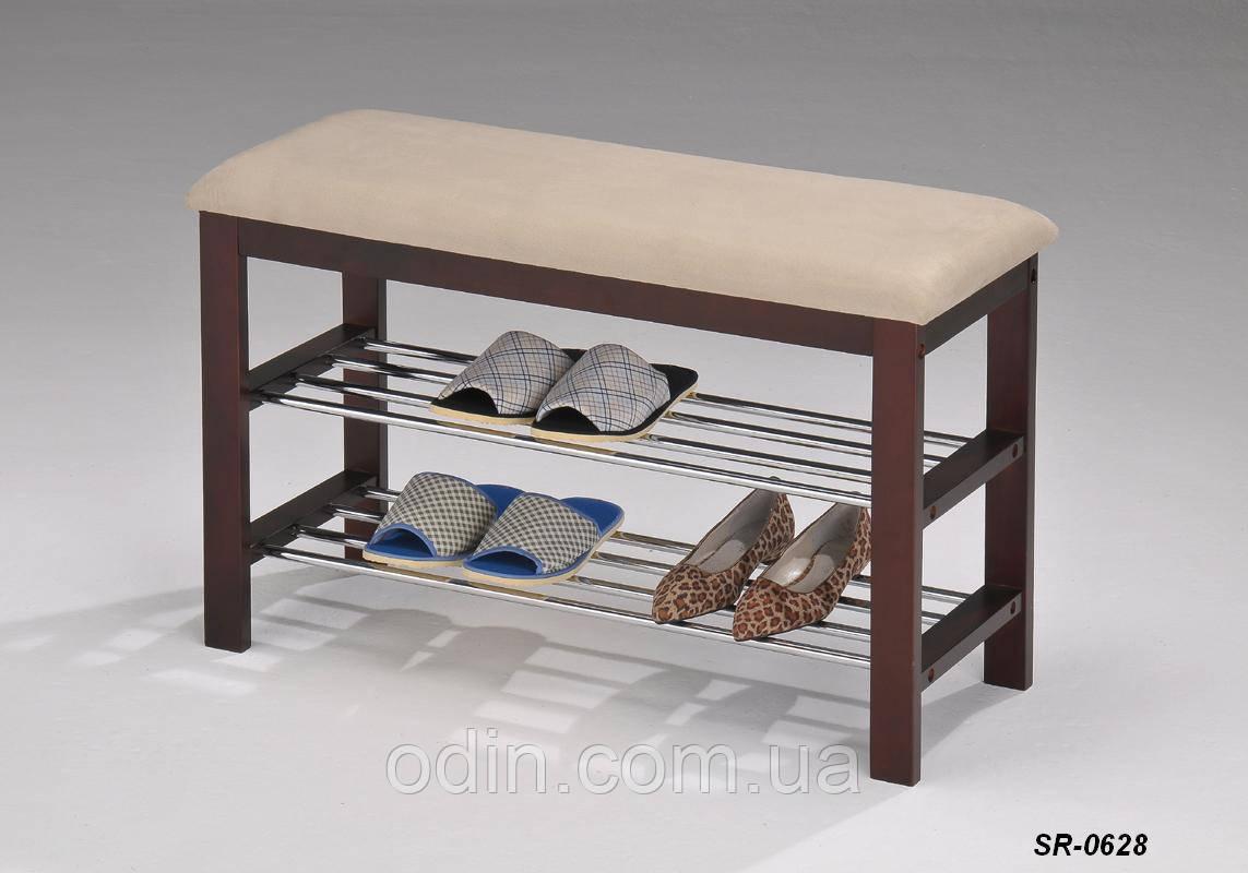 Подставка для обуви с сиденьем SR-0628