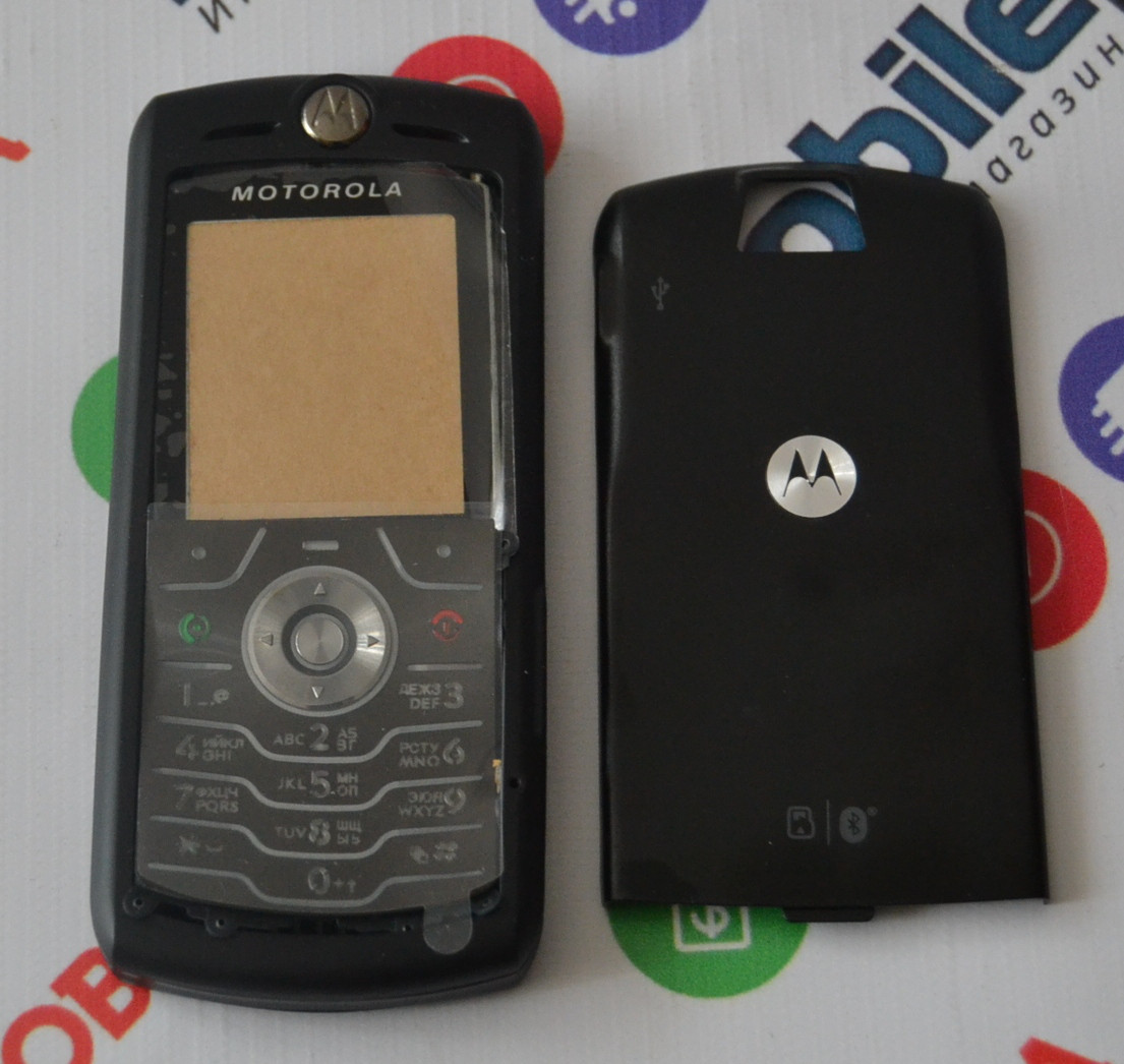 1aeb7d40c6140 Корпус для телефона Motorola L7 в сборе (Качество ААА) (Черный) Распродажа!