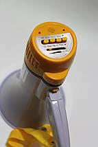 Рупор Мегафон HQ-108 + сирена + запись + воспроизведение + АКБ в комплекте!, фото 3