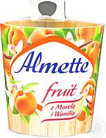 Сир Almette абрикос / ваніль 49% 150г