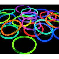 Светящиеся браслеты палочки для детей и взрослых