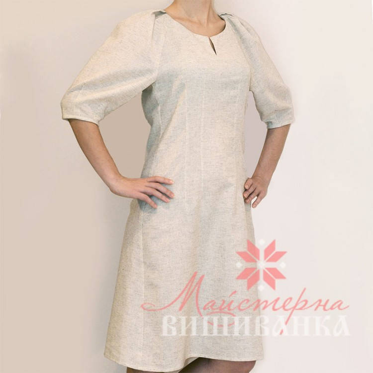 Лляна заготівля сукні під вишивку СК-04 л  купити за ціною 680 грн ... 67aed4a88d0a5
