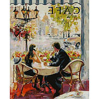 Картина по номерам Babylon Premium Французское кафе NB873