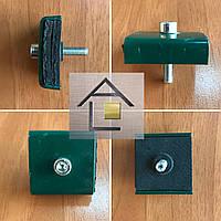 Крепления для секционного ограждения 3Д заборов полимерным покрытием