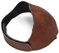 Автопятка кожаная для женской обуви коричневый перламутр 608835-4