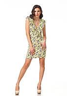 Платье женское с рюшами. П108
