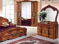 Комод з ДСП/МДФ в спальню, вітальню, дитячу Реджина 4Ш горіх Миро-Марк