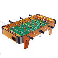 Игра Настольный Футбол ZC1002A деревянный 14 веселых игроков, 2 мяча и 6 кулис, мех. счетчики, набор из дерева