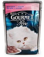 Консервы для кошек Gourmet Perle Purina (Пурина) лосось в подливке