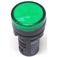 Світлосигнальна арматура AD22-2 2DS(LED) зелена ІЕК 230В  (Світлосигнальна арматура AD22-2 2DS(LED) зелена ІЕК 230В )
