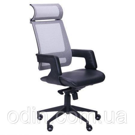 Кресло Axon каркас черный, сетка серая 514757