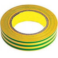 Ізолента ПВХ жовто-зелена 21м (Ізолента ПВХ жовто-зелена 21м)