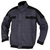 Куртка рабочая мужская мод.COOL TREND, серо - черная