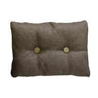 Подушка декоративная TWIST Коричневая 25*35 см